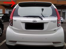 Rear spoiler All  New Sirion